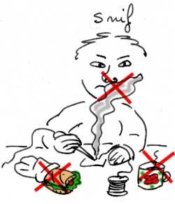 Danger : ne pas respirer les vapeur, manger ou boire en soudant.